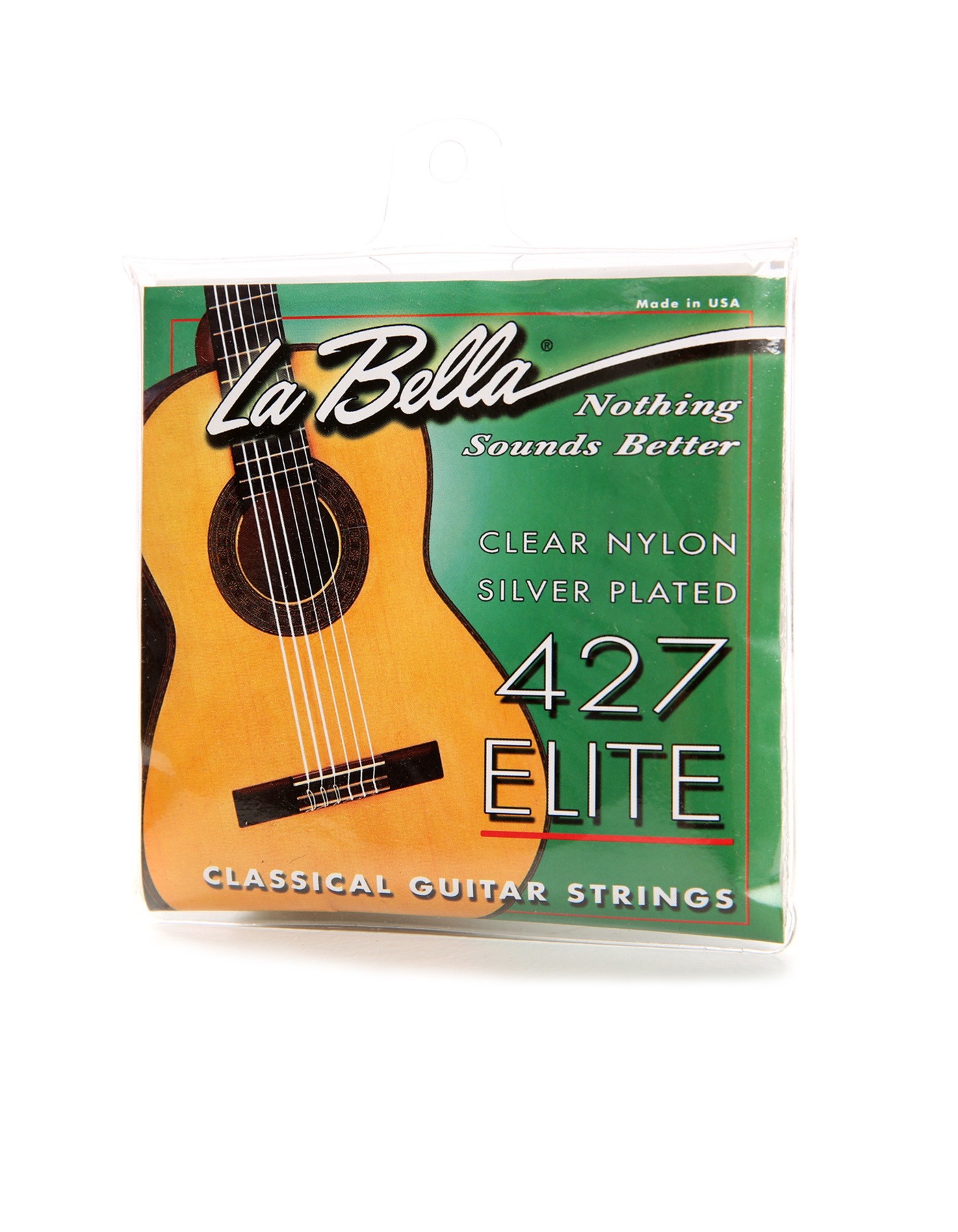 Cuerdas de la guitarra La Bella 427 Elite tensión media