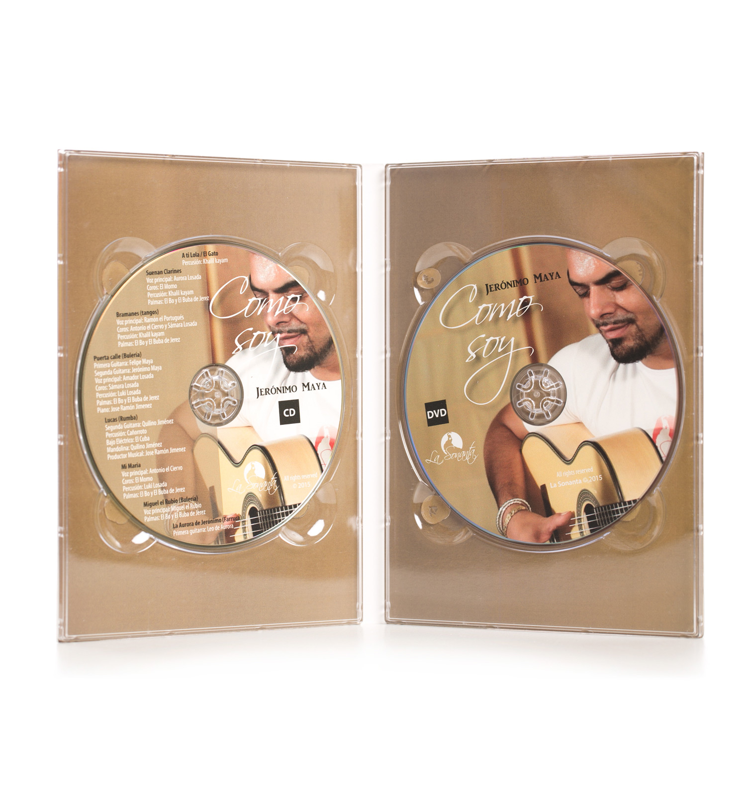 Jeronimo Maya 'Como Soy' (CD+ DVD)
