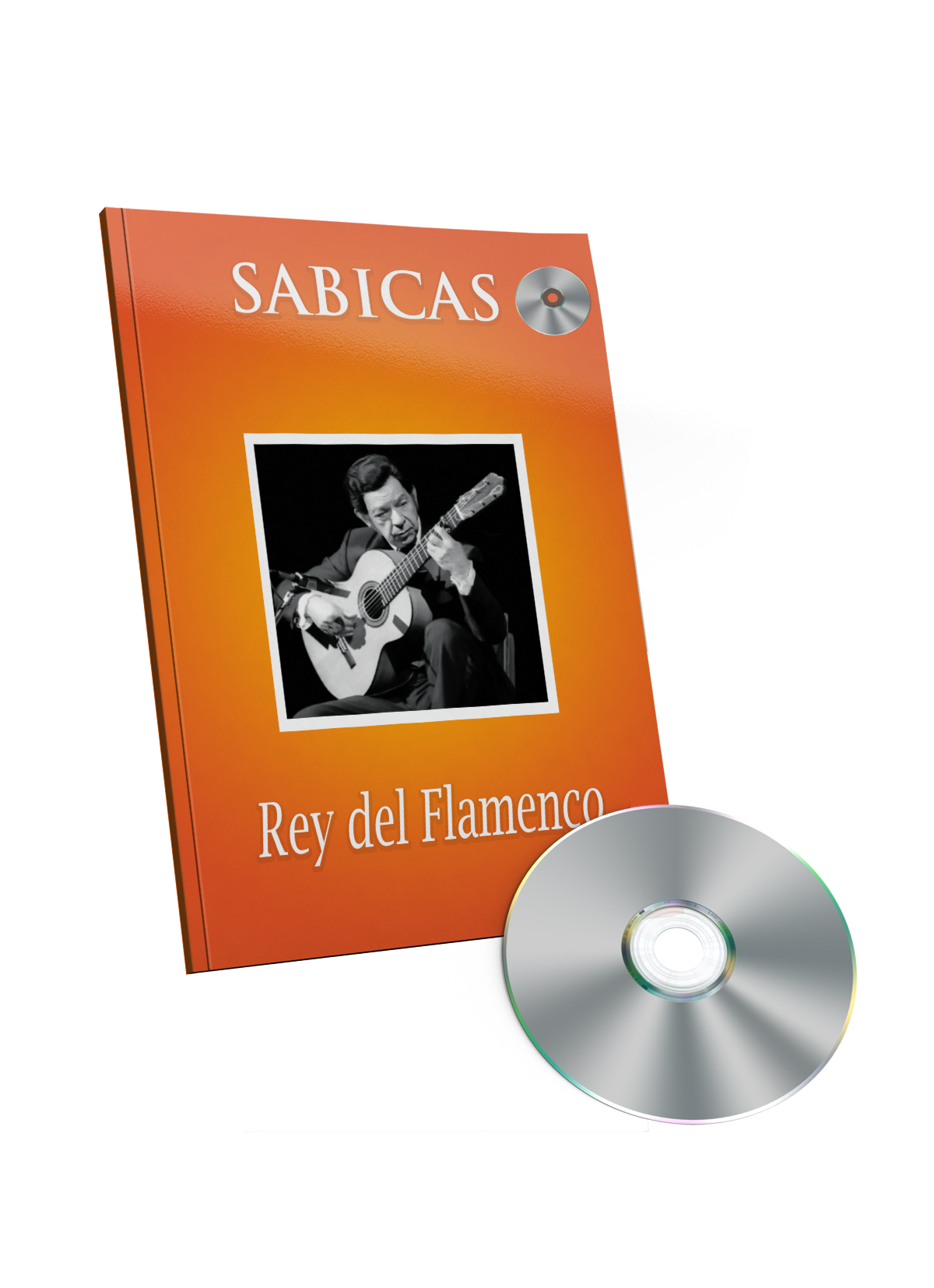 Sabicas libro de partituras CD - Rey del Flamenco