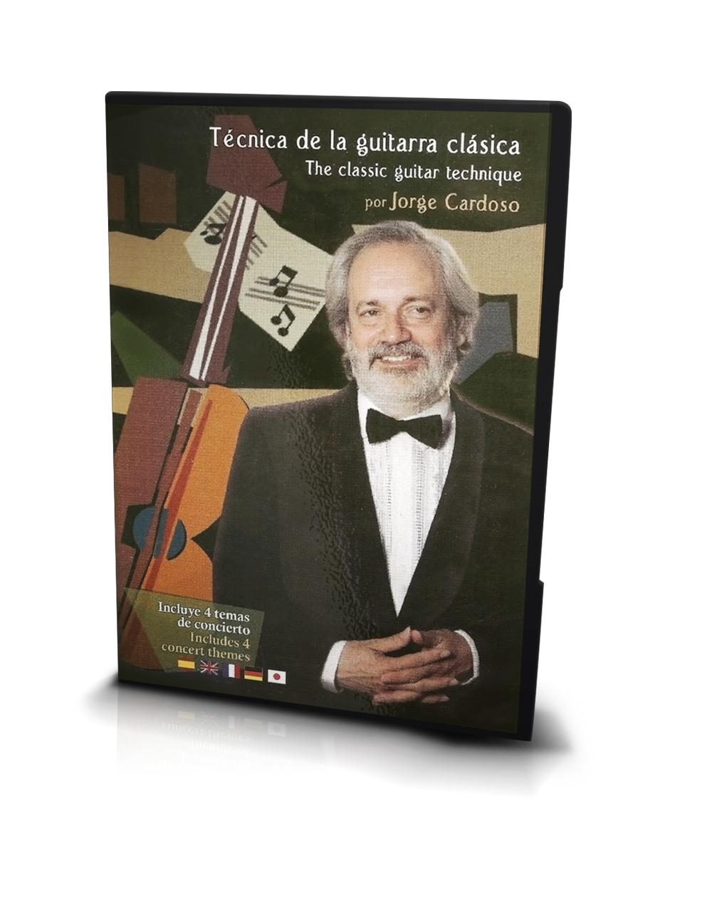 Técnica de la Guitarra Clásica (Libro-DVD) Jorge Cardoso › DVD Otros ...