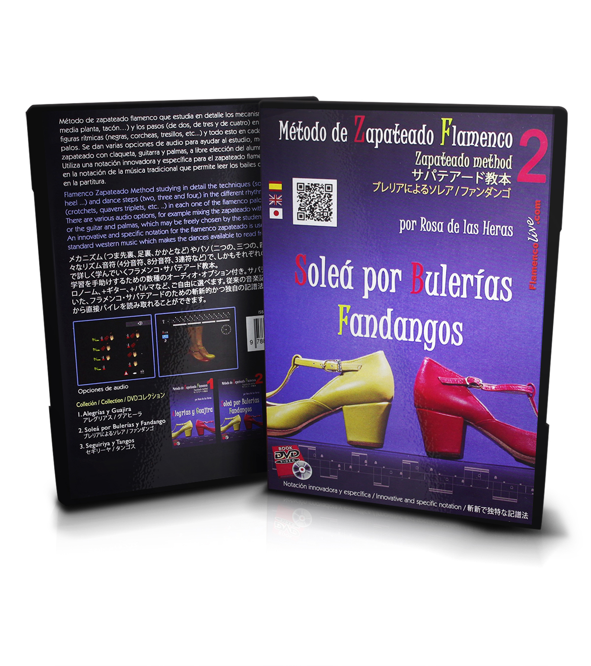 Flamenco dance DVD lessons from the conservatory of Madrid vol 2 ...