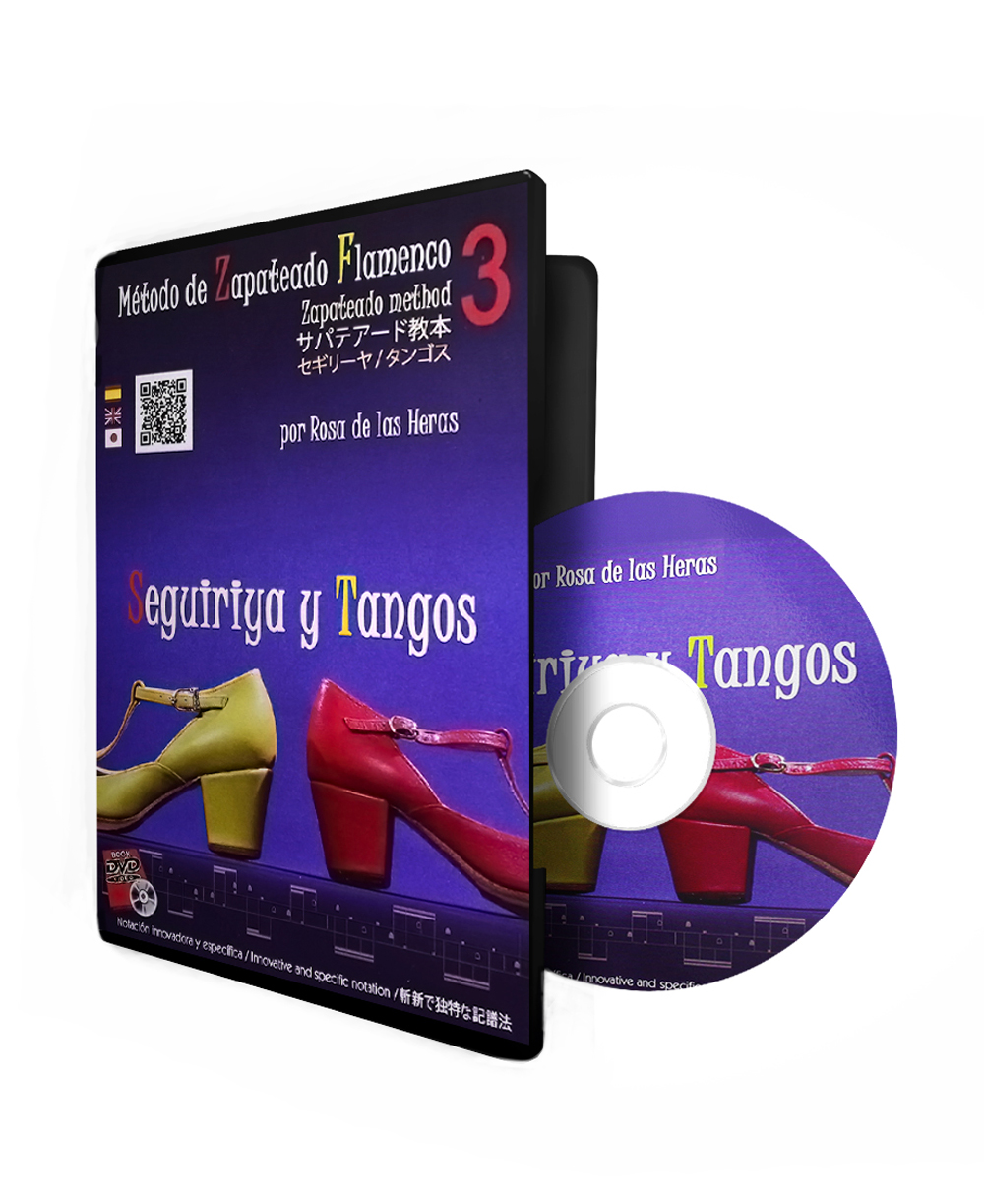 Flamenco dance DVD lessons from the conservatory of Madrid Seguiriya ...