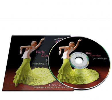 Flamenco dance CD for Fandangos