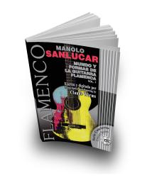 Libro de partituras 1 + CD Manolo Sanlucar guitarra flamenca