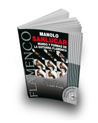 Manolo Sanlucar libro de partituras 3 + CD guitarra flamenca